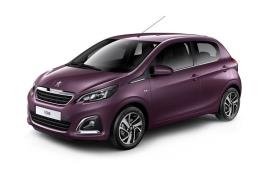 Peugeot 108 Hatchback car leasing